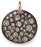 Pomellato Sabbia Pendant with Brown Diamonds in 18K Rose Gold