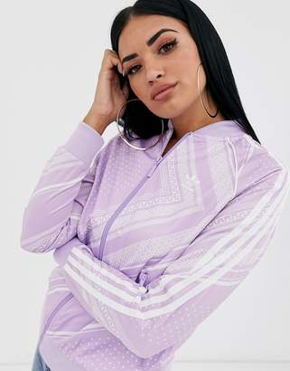 adidas SST Track Top-Purple