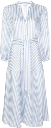 Veronica Beard striped midi dress