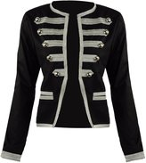 Ro Rox Women's Parade Steampunk Military Officer Napoleon Jacket