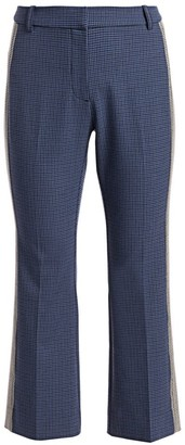 Derek Lam 10 Crosby Cropped Gingham Flare Pants