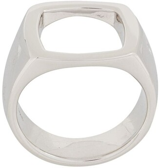 Tom Wood Open Cushion ring