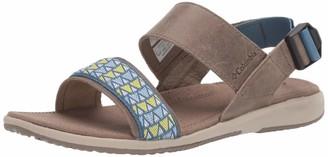 Columbia Women's SolanaTM Hiking Sandals Blue (Wet Sand Steel 252) 10 UK 43 EU