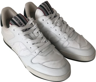 Christian Dior D-Bee White Rubber Trainers