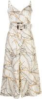 Nicholas Seta Vintage Palm print jumpsuit