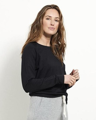 Stripe & Stare Sweatshirt Black - Small