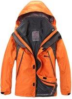 Tortor 1bacha Kid Boys Girls 3-in-1 Interchange Jacket Fleece Liner Outdoor Coat 7-8Y