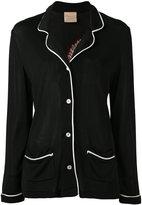 Laneus embroidered back jacket