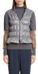 Fabiana Filippi Quilted Down Puffer Vest
