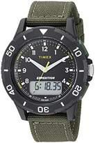 Timex Men's TW4B16600 Expedition Katmai Combo 40mm Nylon Strap Watch