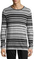 Vince Jasper Long-Sleeve Striped T-Shirt, Multi