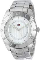 Tommy Hilfiger Women's 1781356 Cool Sport Stainless Steel Numbered Bezel Watch