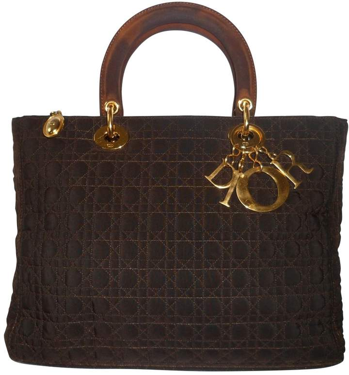 Christian Dior Large Model Lady Bag
