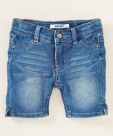 DKNY Canal St Wash Bermuda Shorts - Girls
