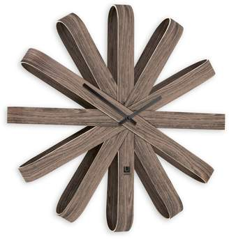 Umbra Ribbon Wooden Wall Clock
