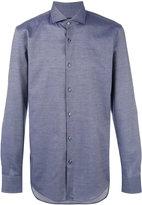 HUGO BOSS chambray shirt - men - Cotton - 39