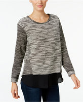 Vince Camuto TWO by Marled Contrast Sweater