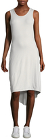 James Perse Blouson Back Tank Dress