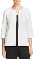 Eileen Fisher Textured Open Front Jacket