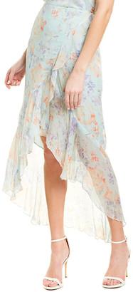Alice + Olivia Caily Wrap Skirt