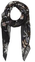 Vince Camuto Sheer Floral Scarf