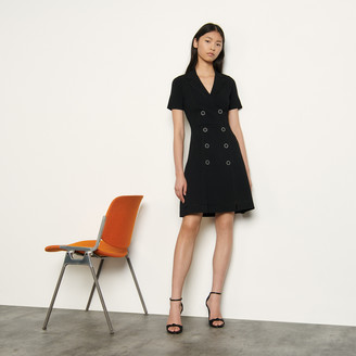Sandro Knitted tailored dress