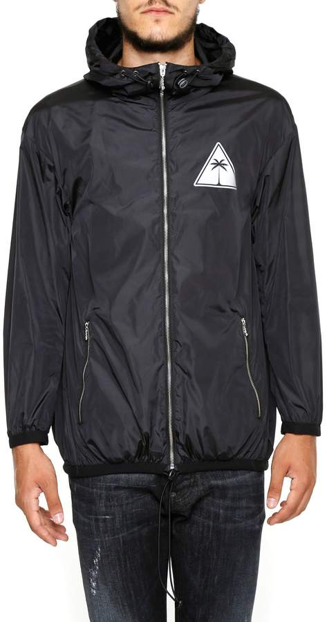 Palm Angels Palm Icon Rain Jacket