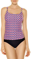Christina Blue One-Piece Double-Strap D-Cup Swimsuit