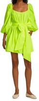Thumbnail for your product : Cinq à Sept Delilah Puff-Sleeve Mini Dress