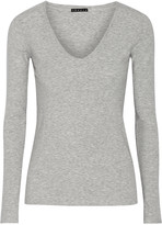 Theory Isakal stretch-jersey top