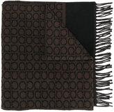 Salvatore Ferragamo Gancio logo scarf
