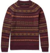 J.Crew Glendorn Fair Isle Wool Sweater
