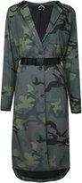 The Upside camouflage print Anja hooded coat