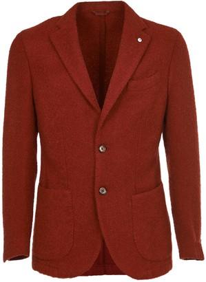 Lubiam Rust Wool Jacket