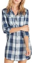 Billabong Women's Winter's Tail Plaid Shirtdress