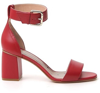 RED Valentino Block Heel Sandals