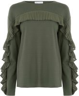 Warehouse FRILL SWEAT