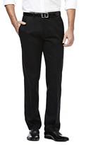 Haggar Premium No Iron Khaki - Straight Fit, Flat Front, Flex Waistband
