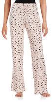 Lord & Taylor Jersey Knit Printed Pajama Pants