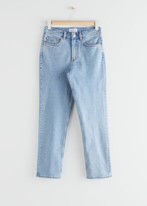 And other stories Straight Stretch Jeans