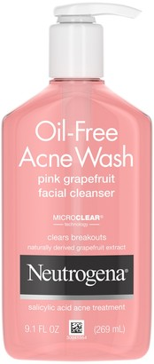 Neutrogena Oil Free Acne Wash Pink Grapefruit Facial Cleanser