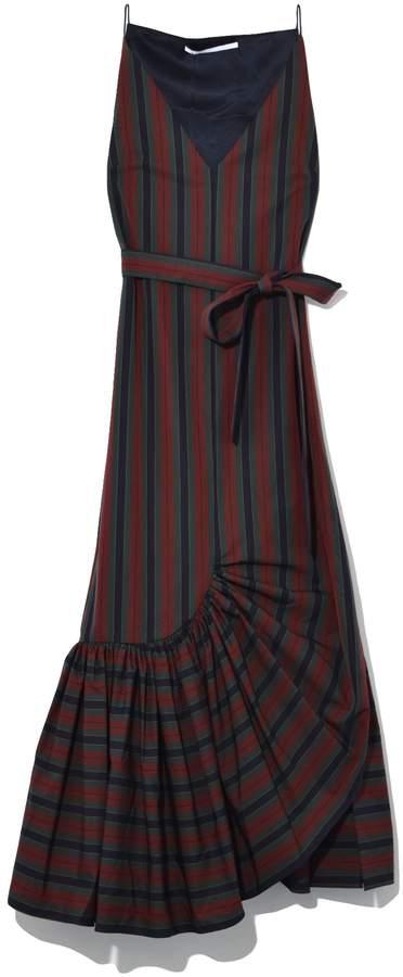 Rosetta Getty Ruffle Camisole Dress in Multi