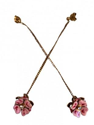 Stella McCartney Gold Steel Earrings