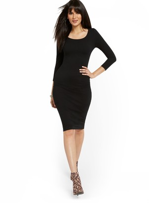 New York & Co. Scoopneck Midi Dress - Everyday Collection