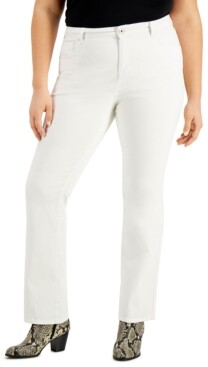 Style&Co. Style & Co High-Rise Bootcut Jeans, Created for Macy's