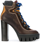 DSQUARED2 hiking style ankle boots