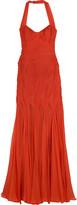Lucilla halter gown