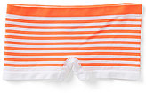 Copper Key Big Girls 7-16 Seamless Boy-Short Striped Panties