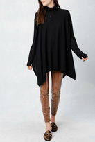 Love Stitch Lovestitch Oversized Poncho Style Sweater