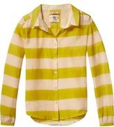 Scotch & Soda Striped Silk Blend Shirt